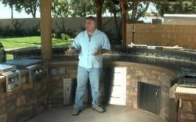 Circular Outdoor Kitchen U0026 Bar