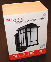 Kuna Maximus Smart Security Light Maximus Smart Security Light Review The Gadgeteer