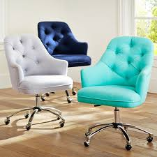 pb teen tufted desk chair this in white would be nice