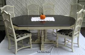 sloan dining room table the  ethan allen set the