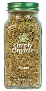 Simply Organic Oregano Leaf <b>Cut &</b> Sifted <b>Certified Organic</b>, .75 ...