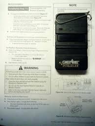 genie garage door opener remote replacement genie garage door opener remote genie type 1 garage door