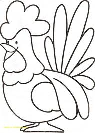 Roosters Coloring Pages Lovely Rooster Page For Bitsliceme