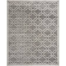 safavieh amherst grey indoor outdoor rug 11 x 16