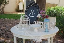 Wedding Reception Table Diy Shabby Chic Weddings Az