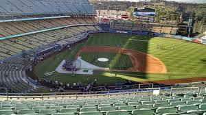 Dodger Stadium Seating Chart Infield Reserve Dodger Stadium Infield Reserve 10 Rateyourseats Com