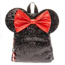 <b>Disney</b>© <b>Minnie Mouse</b> Sequinned Midi <b>Backpack</b> - Black | Claire's