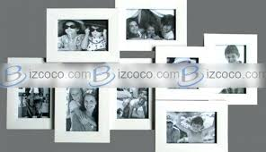 standing collage picture frames frame multi black photo white and for glamorous target large openings