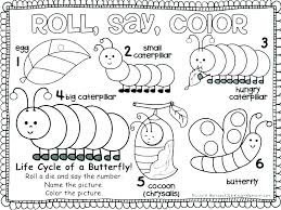 Caterpillar Coloring Pages Preschool Caterpillar Coloring Page