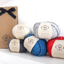 gifts for knitters luxury merino yarn wool set