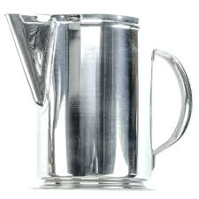 stainless steel pitchers with lids water pitchers with lids 2 qt stainless steel water pitcher best