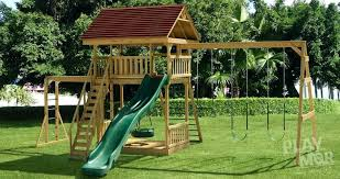 home and furniture cool small wood swing set in play tiny treasure wooden shade for awesome of backyard sets com