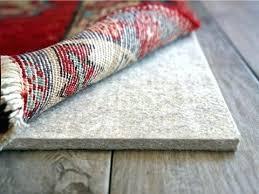 vinyl rug pad plush 3 8 pads for laminate floors floor