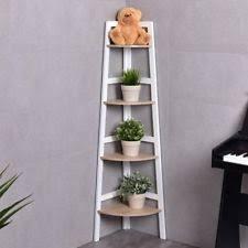 Wooden Ladder Display Stand 100 Tier Corner Shelf Wooden Ladder Wood Display Stand Unit Floor 70