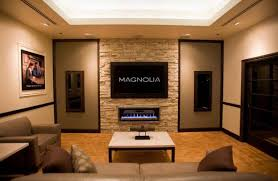 Living Room Modern Ideas With Fireplace And Tv