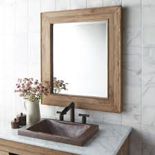 wood wall mirrors. Chardonnay 29-Inch Weathered Oak Rectangular Mirror Wood Wall Mirrors C