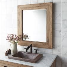 chardonnay 29 inch weathered oak rectangular mirror