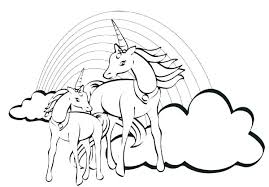 Unicorn Rainbow Coloring Pages Coloring Page Unicorn Unicorn Coloring Pages Coloring Pages Unicorn