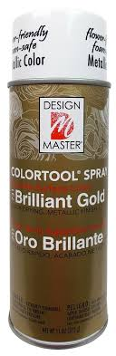 Design Master No 731 Brilliant Gold Colortool Spray Design Master Colortool Spray Paint 731 Brilliant Gold 11 Oz 1 2