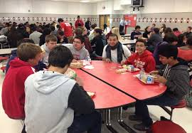 high school lunch table. Students Have Noticed Lunches At AHS Becoming Increasingly Segregated. High School Lunch Table