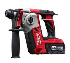 milwaukee rotary hammer. choose rotary hammer or rotation only for added versatility milwaukee tool