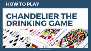 how to play chandelier drinking game with rules