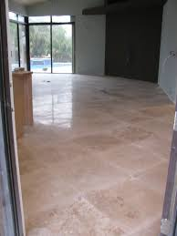 photo 1 of 10 this is a 1 500 sq ft 24 x 24 inch travertine floor installed