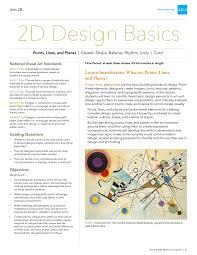 12 Design Compositions Aiga Unit 2 2d Basic Design Combine File Pages 1 31 Text