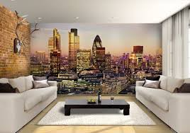 wall murals for office. cityscape wall murals for office