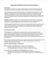 High School Lesson Plan Template Stunning 48 Lesson Plan Samples Free Premium Templates