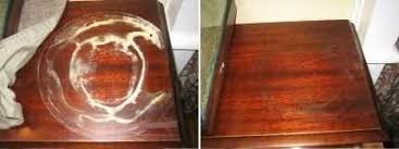 water rings from wood furniture