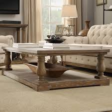 Pine Living Room Furniture Signal Hills Edmaire Rustic Baluster Weathered Pine 60 Inch Coffee