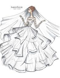 Fashion Dresses Drawing At Getdrawingscom Free For Personal Use