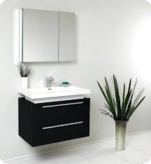 contemporary bathroom vanity sets. modern bathroom furniture cabinet black vanity w two drawers and white acrylic . contemporary sets
