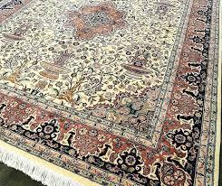 kermans flooring flooring ivory rust hand knotted area rug collection texture detail flooring fishers flooring kermans
