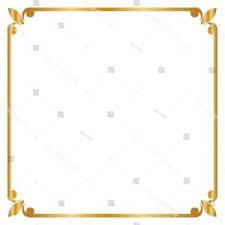 gold frame border square. Frame Border Square Golden Vector Illustration Gold Frame Border Square