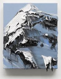 conrad jon ly s mountain paintings drip from the canvas