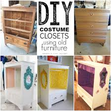 furniture repurpose. Costume Closets Furniture Repurpose D