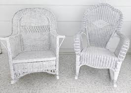 how to paint wicker furniture that will