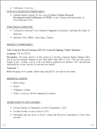 Resume Samples For Freshers Bsc Computer Science Resume Ixiplay