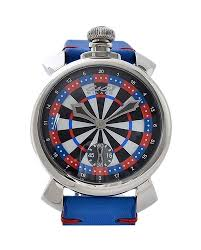 M M Vegas Gaga Milano Manuare 48 Mm Las Vegas World Limited 300 Stainless Steel Hand Winding 5010 Lasvegas 035