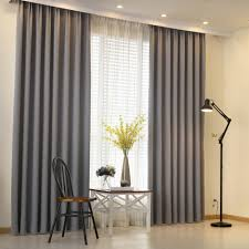 Curtain Designs And Colors Us 4 28 66 Off Napearl 1 Piece Modern Curtain Plain Solid Color Blackout Shade Living Room Window Curtain Panel Door Curtain Bedroom Balcony In