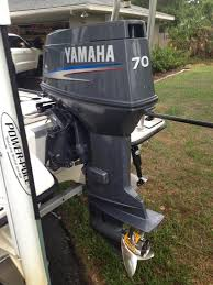 yamaha 70hp outboard. 2009 yamaha 70 hp 2 stroke for sale. 420 hrs. on motor. runs perfect and looks super clean. just upgrading to the fourstroke. 70hp outboard e