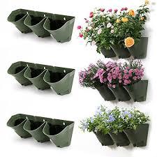 indoor vertical garden. Worth Garden 3-Pack Olive Green Self-Watering Vertical Wall Planters Indoor I