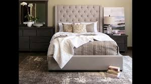 Jerome's Furniture | Parlee Upholstered Bedroom Set - YouTube