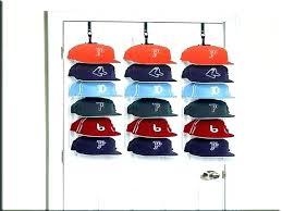 hat racks for baseball caps rack cap plans free amazing organizer wooden