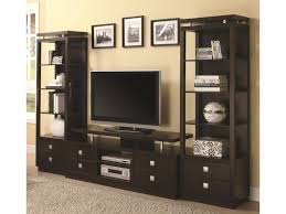 entertainment center with towers. Coaster Entertainment UnitsTV Console Media Towers On Center With