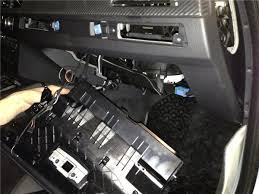 diy soft close doors bmw m remove the glove box there we see of the fuse box pave the wire through the door to block fuses wire from each lock