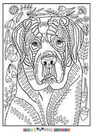 Small Picture Free printable Border Collie coloring page available for download