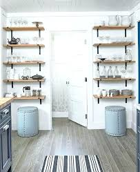 open wall cabinets kitchen open shelves wall cabinet kitchen farmhouse style bookcase wooden